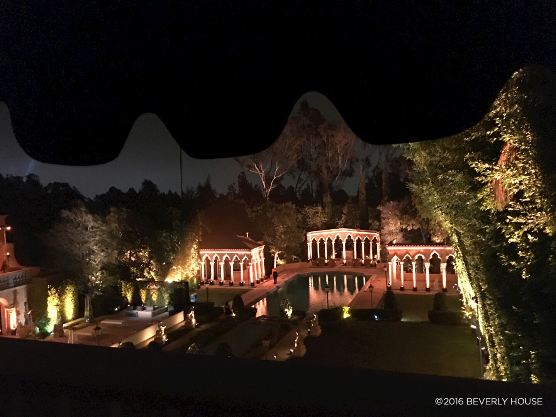 Exterior Evening Lighting Scene